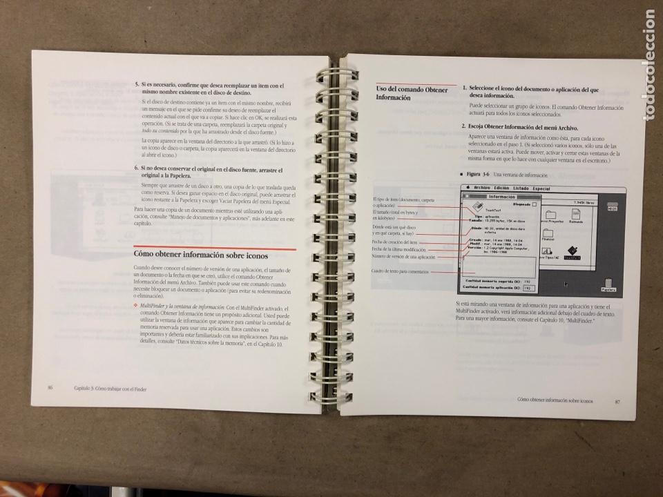 Libros de segunda mano: MACINTOSH SOFTWARE DE SISTEMA VERSIÓN 6.0.4 GUÍA DEL USUARIO. APPLE COMPUTER 1989 - Foto 5 - 182329213