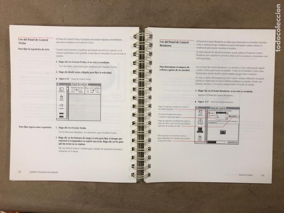 Libros de segunda mano: MACINTOSH SOFTWARE DE SISTEMA VERSIÓN 6.0.4 GUÍA DEL USUARIO. APPLE COMPUTER 1989 - Foto 6 - 182329213