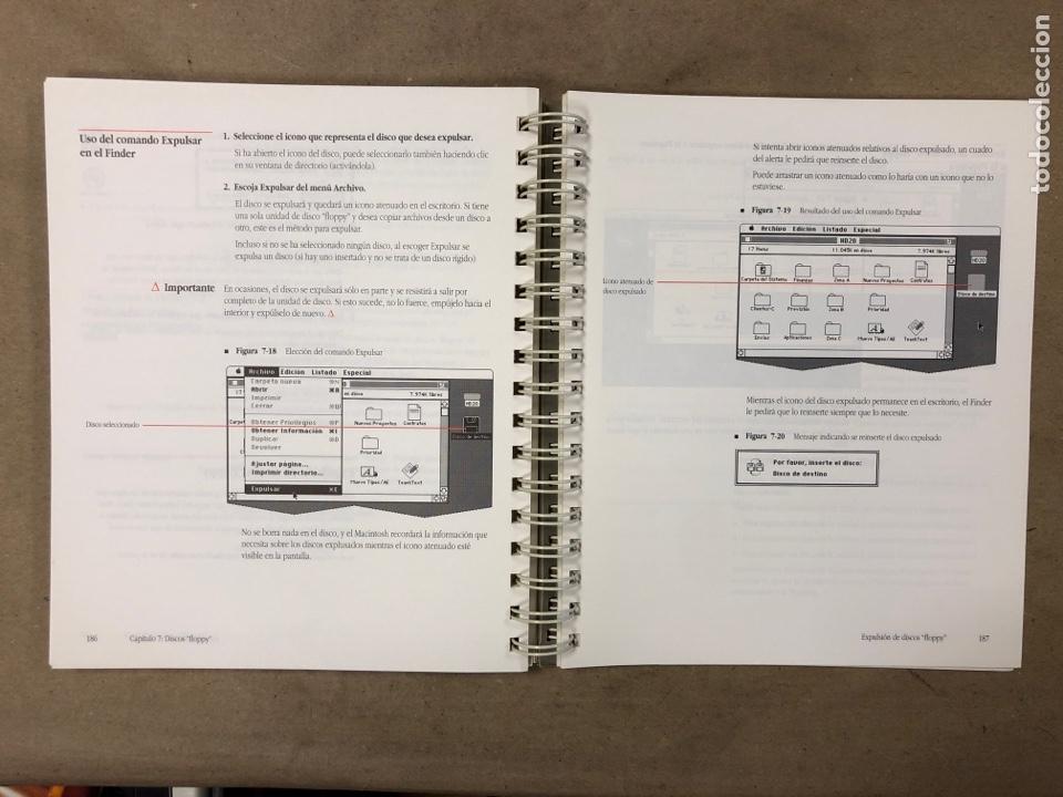 Libros de segunda mano: MACINTOSH SOFTWARE DE SISTEMA VERSIÓN 6.0.4 GUÍA DEL USUARIO. APPLE COMPUTER 1989 - Foto 7 - 182329213