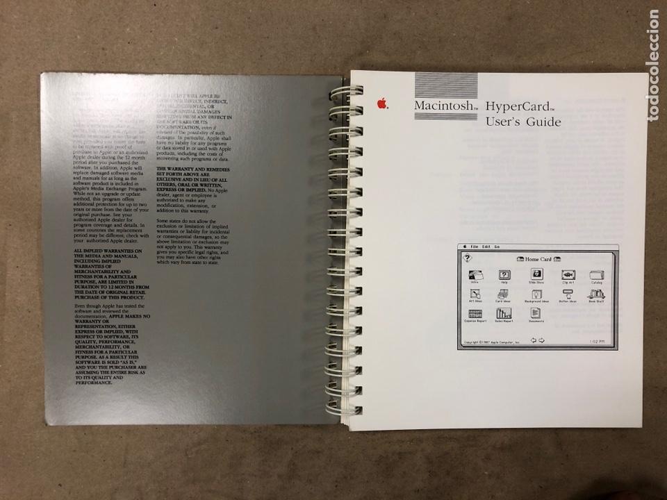 Libros de segunda mano: APPLE MACINTOSH HYPERCARD USER'S GUIDE. APPLE COMPUTER 1987. EN INGLÉS. 217 PÁGINAS. ILUSTRADO. - Foto 2 - 182329450