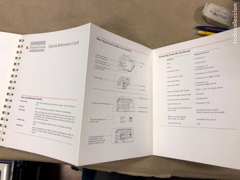 Libros de segunda mano: APPLE MACINTOSH HYPERCARD USER'S GUIDE. APPLE COMPUTER 1987. EN INGLÉS. 217 PÁGINAS. ILUSTRADO. - Foto 9 - 182329450