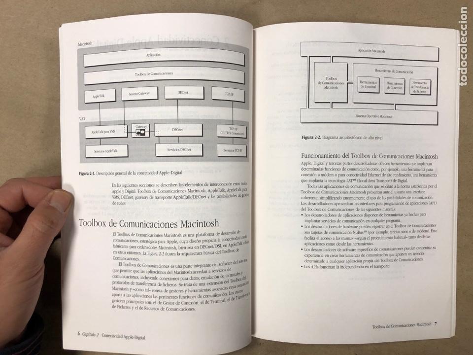 Libros de segunda mano: INTRODUCCIÓN AL ENTORNO DE REDES APPLE DIGITAL. APPLE COMPUTER 1990. ILUSTRADO. 56 PÁGINAS. - Foto 4 - 182329943