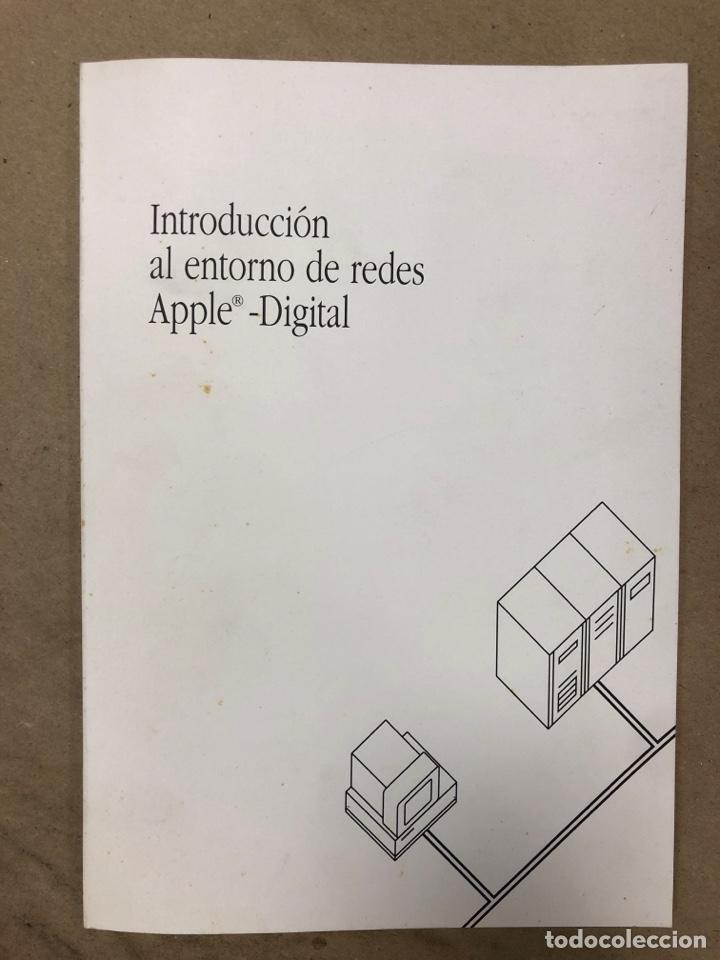 INTRODUCCIÓN AL ENTORNO DE REDES APPLE DIGITAL. APPLE COMPUTER 1990. ILUSTRADO. 56 PÁGINAS. (Libros de Segunda Mano - Informática)