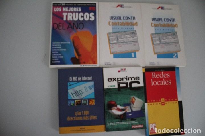 6 LIBROS DE INFORMATICA (Libros de Segunda Mano - Informática)