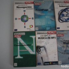 Libros de segunda mano: 6 LIBROS DE INFORMATICA. Lote 182352690
