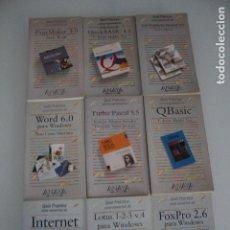 Libros de segunda mano: 9 LIBROS INFORMÁTICA EDITORIAL ANAYA. Lote 182375607