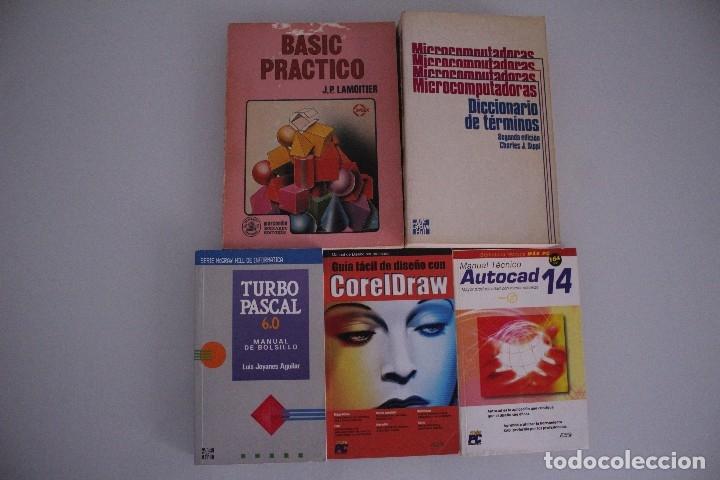5 LIBROS INFORMATICA (Libros de Segunda Mano - Informática)