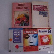 Libros de segunda mano: 5 LIBROS INFORMATICA. Lote 182375710