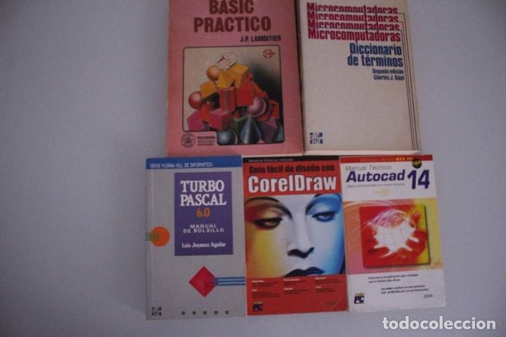 Libros de segunda mano: 5 LIBROS INFORMATICA - Foto 2 - 182375710