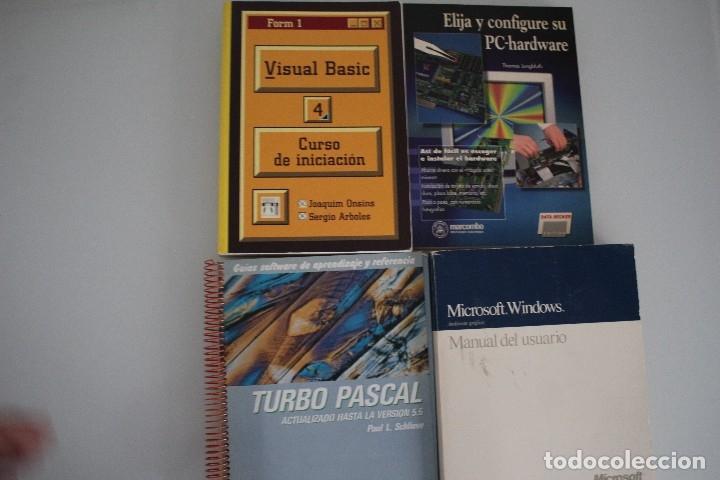 Libros de segunda mano: 4 LIBROS DE INFORMATICA - Foto 2 - 182375783