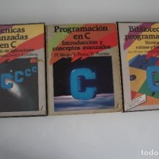 Libros de segunda mano: 3 LIBRO DE INFORMATICA. Lote 182375827