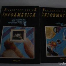 Libros de segunda mano: BIBLIOTECA BÁSICA DE INFORMÁTICA. Lote 182424447