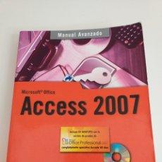 Libri di seconda mano: ACCESS 2007 MANUAL AVANZADO F. CHARTE 2007. Lote 182722100