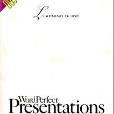 Libros de segunda mano: WORDPERFECT PRESENTATIONS MS-DOS. Lote 182975947
