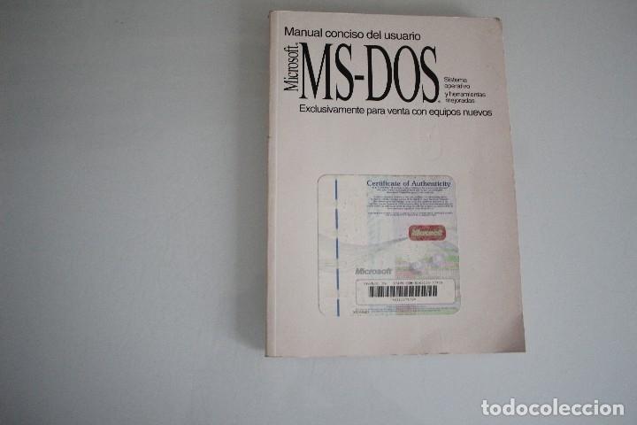 MS-DOS (Libros de Segunda Mano - Informática)