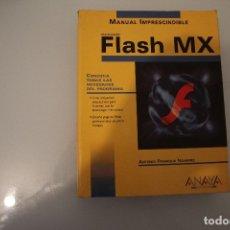 Libros de segunda mano: FLASH MX. Lote 183069742