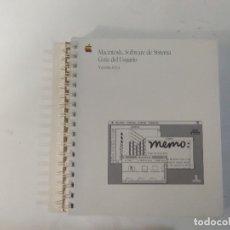 Libros de segunda mano: MACINTOSH - SOFTWARE DE SISTEMA - GUÍA DEL USUARIO - VERSIÓN 6.0.4 - APPLE COMPUTER INC.. Lote 183086748