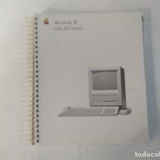 Libros de segunda mano: MACINTOSH SE - GUÍA DEL USUARIO - APPLE COMPUTER INC.. Lote 183086837