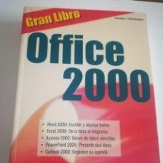 Libros de segunda mano: OFFICE 2000, GRAN LIBRO. HASELLER 467 PÁGINAS.. Lote 183275663