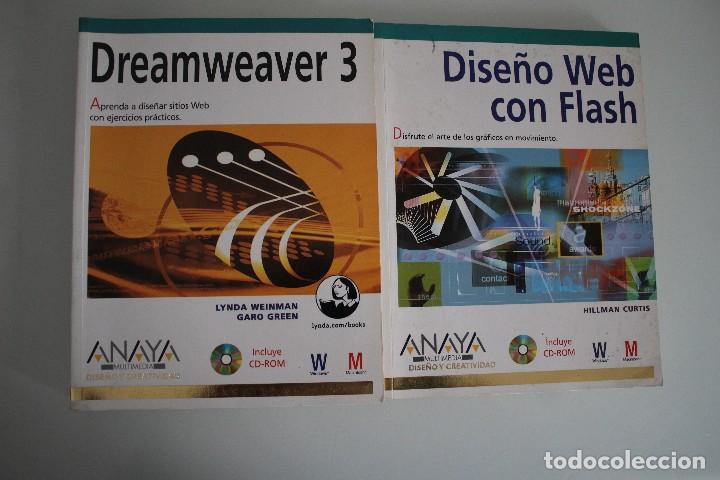 DISEÑO WEB CON FLASH - DREAMWEAVER 3 ANAYA (Libros de Segunda Mano - Informática)