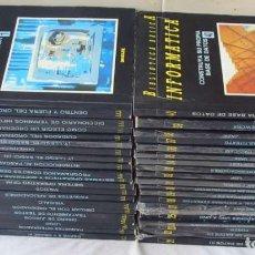Libros de segunda mano: BIBLIOTECA BÁSICA INFORMÁTICA 40 TOMOS COMPLETA - INGELEK 1986 -MÁS DE 5000 PÁGINAS VER DESCRIPCIÓN. Lote 183828340