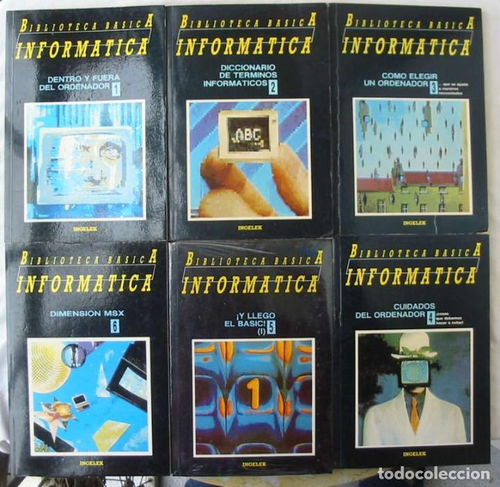 Libros de segunda mano: BIBLIOTECA BÁSICA INFORMÁTICA 40 TOMOS COMPLETA - INGELEK 1986 -MÁS DE 5000 PÁGINAS VER DESCRIPCIÓN - Foto 2 - 183828340