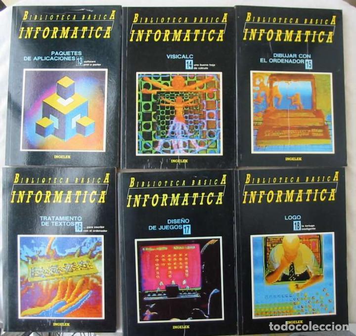 Libros de segunda mano: BIBLIOTECA BÁSICA INFORMÁTICA 40 TOMOS COMPLETA - INGELEK 1986 -MÁS DE 5000 PÁGINAS VER DESCRIPCIÓN - Foto 4 - 183828340