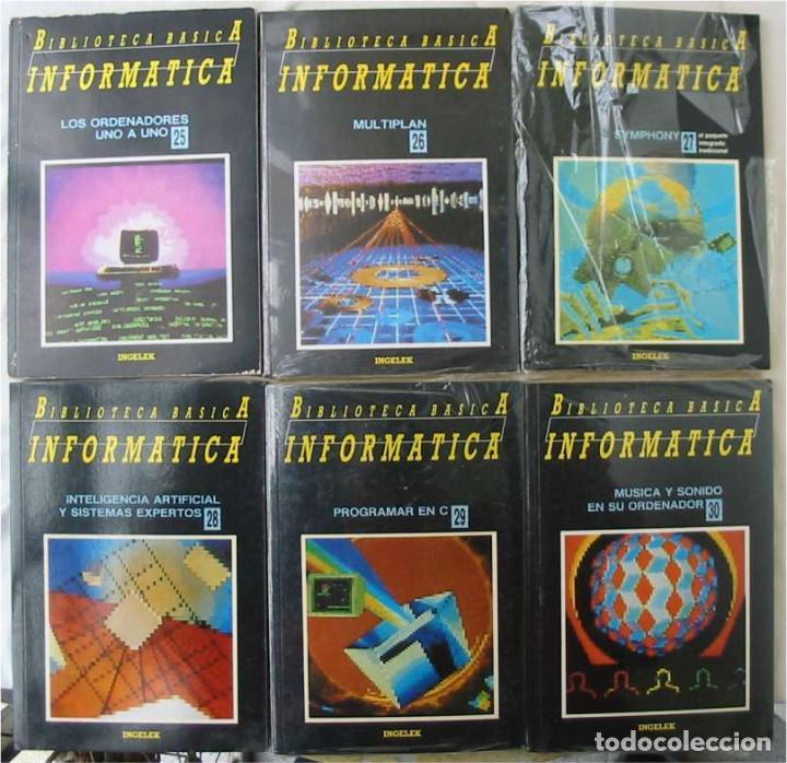 Libros de segunda mano: BIBLIOTECA BÁSICA INFORMÁTICA 40 TOMOS COMPLETA - INGELEK 1986 -MÁS DE 5000 PÁGINAS VER DESCRIPCIÓN - Foto 6 - 183828340