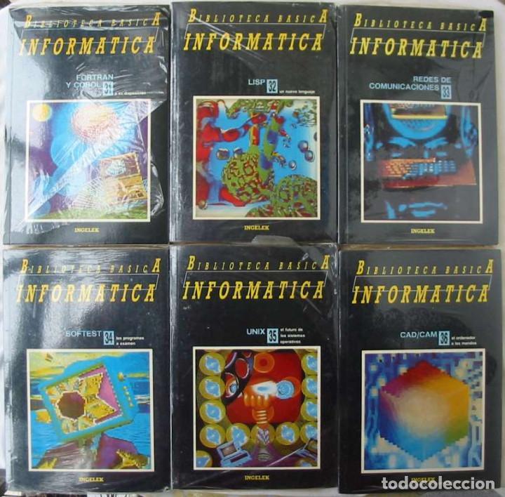 Libros de segunda mano: BIBLIOTECA BÁSICA INFORMÁTICA 40 TOMOS COMPLETA - INGELEK 1986 -MÁS DE 5000 PÁGINAS VER DESCRIPCIÓN - Foto 7 - 183828340