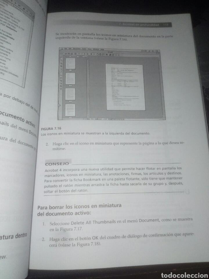 Libros de segunda mano: PDF con Adobe Acrobat 4 Prentice Hall Windows y Macintosh Ted Alspach - Foto 9 - 183857862
