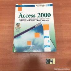 Libros de segunda mano: ACCESS 2000. Lote 183911297
