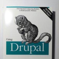 Libros de segunda mano: USING DRUPAL (SEGUNDA EDICIÓN) - A ESTRENAR. Lote 184030635