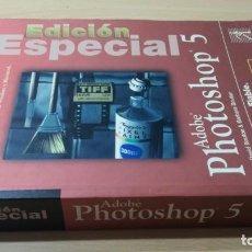 Libros de segunda mano: PHOTOSHOP 5 ADOBE- EDICION ESPECIAL - PRENTICE HALL/ G501. Lote 184031197