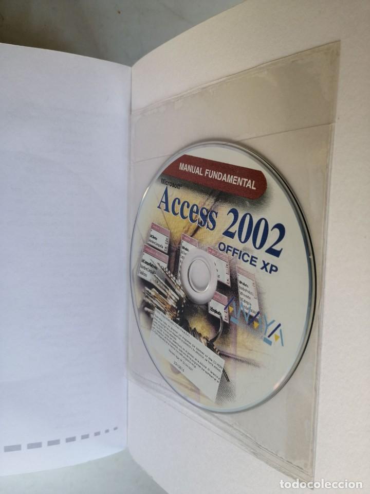 Libros de segunda mano: Microsoft Acces 2002 - Virginia Andersen - Foto 3 - 184348352