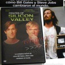 Libros de segunda mano: DVD PELÍCULA PIRATAS DE SILICON VALLEY STEVE JOBS BILL GATES HISTORIA LA INFORMÁTICA APPLE -NO LIBRO. Lote 184573311