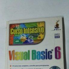 Libros de segunda mano: VISUAL BASIC 6 CURSO INTENSIVO SIN CD. Lote 184896860