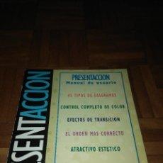 Libros de segunda mano: LIBRO PRESENTACIÓN. Lote 185756481