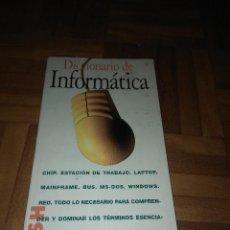 Libros de segunda mano: LIBRO DICCIONARIO DE INFORMÁTICA. Lote 185756678