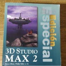Libros de segunda mano: LIBRO EDICIÓN ESPECIAL 3D STUDIO MAX 2 (1998) STEVEN ELLIOTT Y PHILLIP MILLER. Lote 186279657
