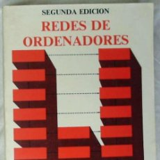 Libros de segunda mano: REDES DE ORDENADORES - ANDREW S. TANENBAUM - PRENTICE-HALL 1991 MÉXICO - VER ÍNDICE. Lote 188793920