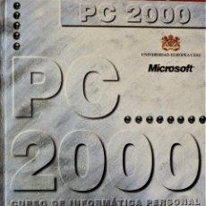 Libri di seconda mano: PC 2000, CURSO DE INFORMÁTICA - ABC BLANCO Y NEGRO. Lote 189289871