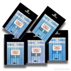 Libros de segunda mano: CURSO DE PROGRAMACION DE ORDENADORES 5 TOMOS ESTRUCTURA BASICA DEL PROCESO DE DATOS GRUPO ECC. Lote 189373717