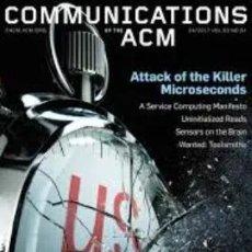 Libros de segunda mano: REVISTAS COMMUNICATIONS OF THE ACM(INGLÉS). Lote 189481851