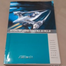 Libros de segunda mano: GUÍA DE INSTALACIÓN PLACA BASE ASROCK ALIVENF7G-FULLHD CON CD INSTALACION(VINTAGE). Lote 190644455