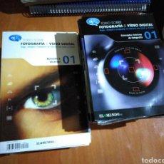 Libros de segunda mano: TODO SOBRE FOTOGRAFÍA & VÍDEO DIGITAL 13 LIBROS Y 49 CDS PC. Lote 190758106