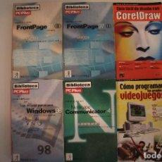 Libros de segunda mano: 6 LIBROS DE INFORMATICA. Lote 191158877