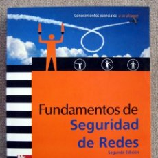 Libros de segunda mano: FUNDAMENTOS DE SEGURIDAD EN REDES, DE ERIC MAIWALD. Lote 191335221