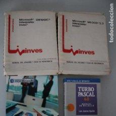 Libros de segunda mano: 4 LIBROS DE INFORMÁTICA. Lote 191474476