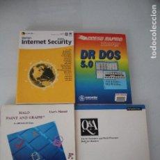 Libros de segunda mano: 4 LIBROS DE INFORMATICA. Lote 191474500