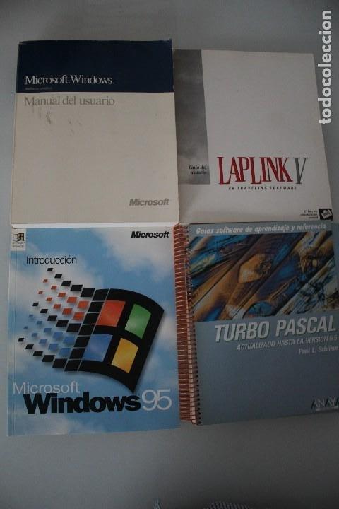 4 LIBROS DE INFORMATICA (Libros de Segunda Mano - Informática)